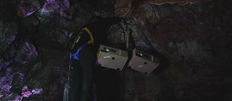 Cheddar Gorge and Caves 2016 outdoor projector encllosures