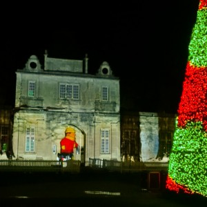 longleat enchanted christmas tree festival of light 2016